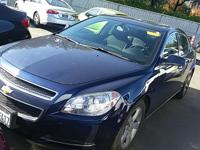 Options:  2011 Chevrolet Malibu Lt|Blue|Penny-Pinching