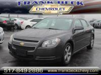 Options:  2011 Chevrolet Malibu Lt|Lt 4Dr Sedan