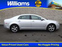 Options:  2011 Chevrolet Malibu Lt|Silver|Clean Vehicle