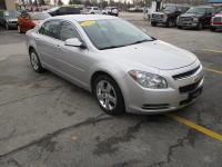 Options:  2011 Chevrolet Malibu 4D Sedan Lt2|Silver|Abs