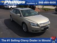 Options:  2011 Chevrolet Malibu Ltz|Champagne|Gasoline!