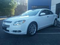 Exterior Color: white, Body: LTZ 4dr Sedan, Engine: 2.4