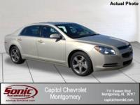 One-Owner 2011 Malibu with LT Trim Package! Guaranteed