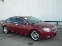 Malibu LTZ 3.6 L V6 SPI DOHC VVT FWD Red and Natural