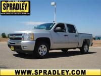 This Crew Cab Pickup is hot! This 2011 Chevrolet