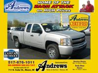 2011 Andrews Automotive Certified Used Chevrolet