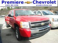 Options:  2011 Chevrolet Silverado 1500 Ls|Red/|V8 4.8L