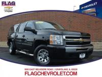 Recent Arrival! Chevrolet Silverado 1500 LS Black ONE