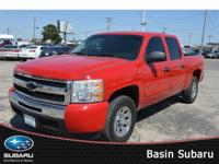 Our 2011 Red Silverado 1500 LT Crew Cab is one