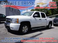 Silverado 1500 LT Summit White One Owner, Clean Vehicle