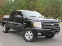 6-Speed Automatic and 4WD. Crew Cab! Flex Fuel! Chevy's