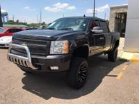 6-Speed Automatic, 4WD, and Cloth. Flex Fuel! Crew Cab!