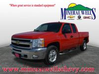 Exterior Color: red, Body: Extended Cab Pickup 4X4,