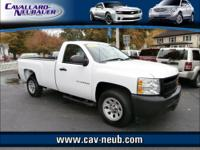 ** REG CAB 2WD WORK TRUCK** Great features like CRUISE,
