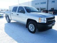 Just Arrived* This adaptable 2011 Silverado 1500 WORK