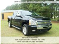 2011 Chevrolet Silverado 1500 LT 4x4 4dr Crew Cab 5.8
