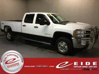 This 2011 Chevrolet Silverado 2500HD LT Crew Cab is
