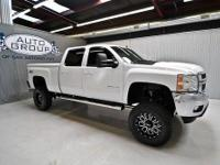 2011 CHEVROLET 2500 CREW CAB LTZ Z71 4WD LIFTED:SUMMIT