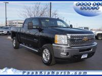 *ONE OWNER*, *LOCAL TRADE**, and **4WD**. Duramax 6.6L