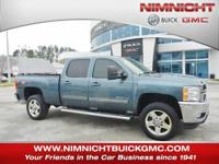 This Chevrolet Silverado 2500HD delivers a Gas V8