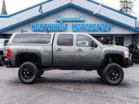 Clean Carfax Two Owner 4x4 Lifted Truck with Canopy!