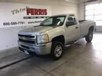 Options:  2011 Chevrolet Silverado 2500Hd
