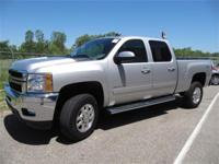 2011 CHEVROLET SILVERADO 2500HD LTZ CREW CAB - 100% AS