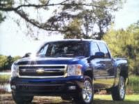 2011 Chevy Silverado dealer brochure featuring all