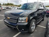 One-Owner Black 2011 Chevrolet Tahoe LS with a Vortec