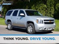 2011 Chevrolet Tahoe. 4WD, Cloth, 6-Way Power Front
