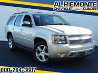 PRICED BELOW MARKET!! THIS Tahoe WILL SELL FAST! This