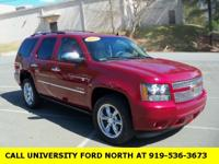 New Price! Clean CARFAX. 2011 Chevrolet Tahoe LTZ Red