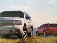 2011 Chevy Tahoe/Suburban dealer brochure featuring