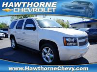 A MUST SEE 2011 TAHOE WHITE DIAMOND LTZ! 1-Owner!