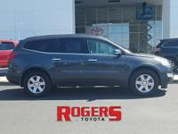 This 2011 Chevrolet Traverse has a V6, 3.6L high output