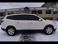 Here is the perfect 3rd row SUV. This Chevy Traverse is