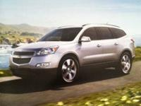 2011 Chevy Traverse dealer brochure listing all