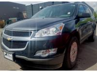 This 2011 Chevrolet Traverse  has a V6, 3.6L high