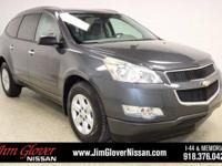 2011 Chevrolet Traverse LS in Cyber Gray Metallic with
