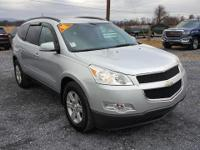 Silver 2011 Chevrolet Traverse LT Cloth 1LT AWD 6-Speed