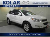 Traverse LT 1LT, 3.6L V6 SIDI, AWD, NEW TIRES, Clean