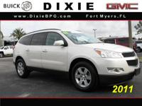 Options:  2011 Chevrolet Traverse Lt|Awd Lt 4Dr Suv
