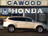 Options:  2011 Chevrolet Traverse Lt|White|Awd|Bose
