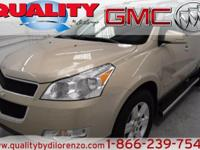 Check out this gently-used 2011 Chevrolet Traverse we