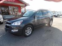 Options:  2011 Chevrolet Traverse Heated Leather Seats!
