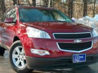 2011 Chevrolet Traverse, Red Jewel Tintcoat, Accident