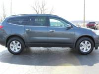 2011 Chevrolet Traverse LT 2LT Cyber Gray Metallic