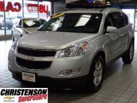 2011+Chevrolet+Traverse+2LT+In+Silver+Ice+Metallic+*+CL