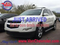 Recent Arrival! 2011 Chevrolet Traverse LT Cloth 1LT
