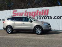 Climb inside this 2011 Chevrolet Traverse LT.This